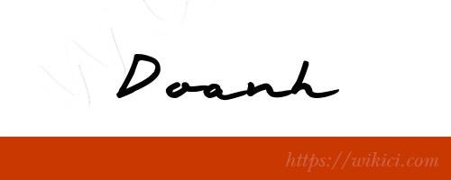 Chữ ký tên Doanh – Những mẫu chữ ký tên Doanh đẹp nhất-9