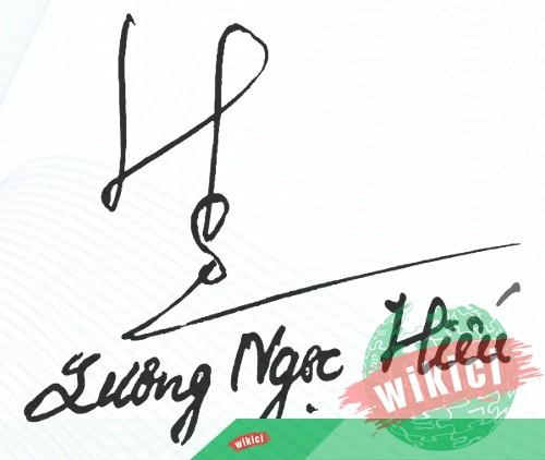 Chữ ký tên Hiếu – Những mẫu chữ ký tên Hiếu đẹp nhất-1