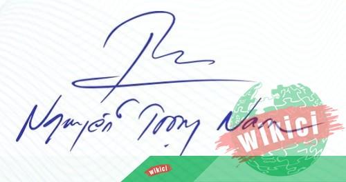 Chữ ký tên Nam – Những mẫu chữ ký tên Nam đẹp nhất-4