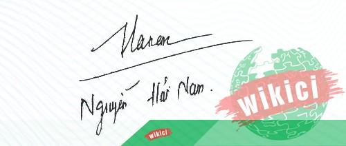 Chữ ký tên Nam – Những mẫu chữ ký tên Nam đẹp nhất-5