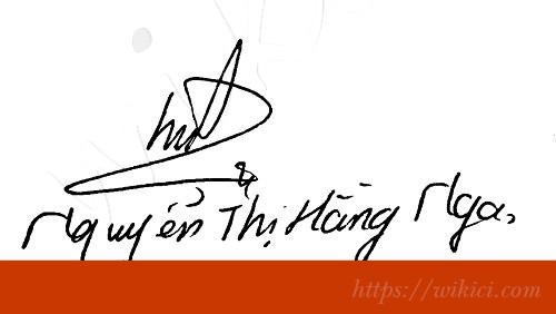 Chữ ký tên Nga – Những mẫu chữ ký tên Nga đẹp nhất-1