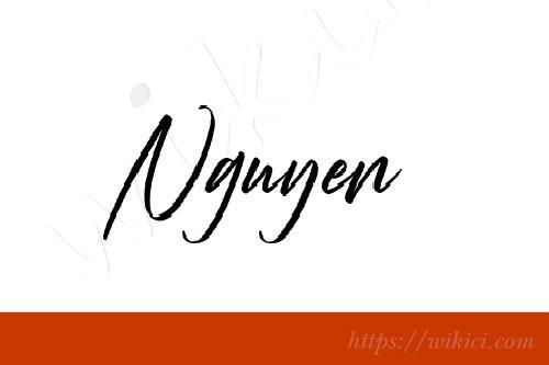 Chữ ký tên Nguyên – Những mẫu chữ ký tên Nguyên đẹp nhất-2