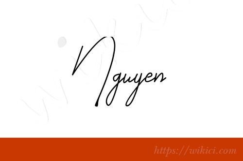 Chữ ký tên Nguyên – Những mẫu chữ ký tên Nguyên đẹp nhất-4