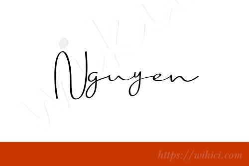 Chữ ký tên Nguyên – Những mẫu chữ ký tên Nguyên đẹp nhất-6