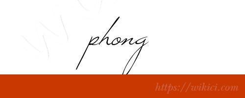 Chữ ký tên Phong – Những mẫu chữ ký tên Phong đẹp nhất-4