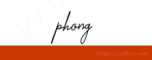 Chữ ký tên Phong – Những mẫu chữ ký tên Phong đẹp nhất-5