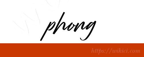 Chữ ký tên Phong – Những mẫu chữ ký tên Phong đẹp nhất-6