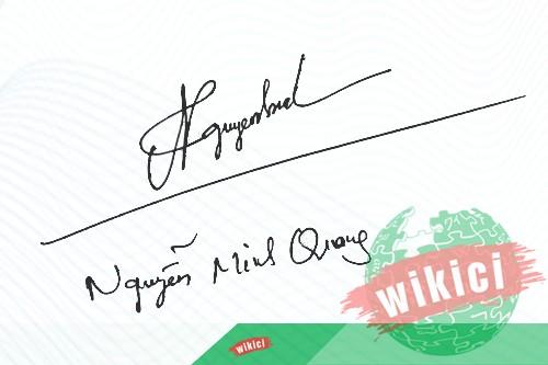 Chữ ký tên Quang – Những mẫu chữ ký tên Quang đẹp nhất-1