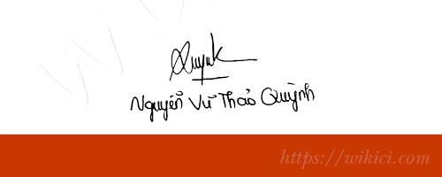 Chữ ký tên Quỳnh – Những mẫu chữ ký tên Quỳnh đẹp nhất-2