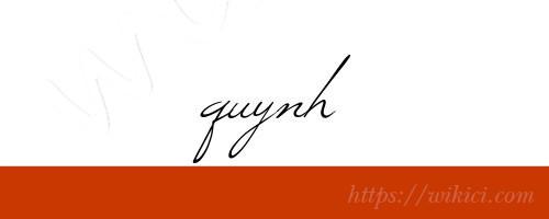 Chữ ký tên Quỳnh – Những mẫu chữ ký tên Quỳnh đẹp nhất-8