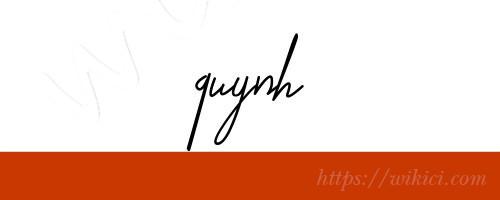 Chữ ký tên Quỳnh – Những mẫu chữ ký tên Quỳnh đẹp nhất-9