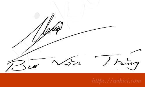 Chữ ký tên Thắng – Những mẫu chữ ký tên Thắng đẹp nhất-1