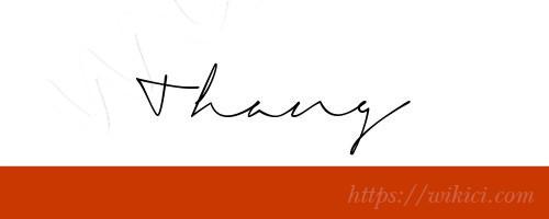 Chữ ký tên Thắng – Những mẫu chữ ký tên Thắng đẹp nhất-10