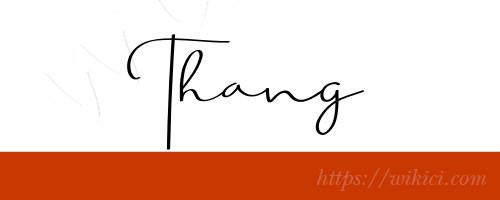 Chữ ký tên Thắng – Những mẫu chữ ký tên Thắng đẹp nhất-3