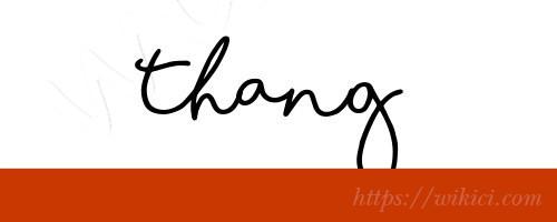 Chữ ký tên Thắng – Những mẫu chữ ký tên Thắng đẹp nhất-6