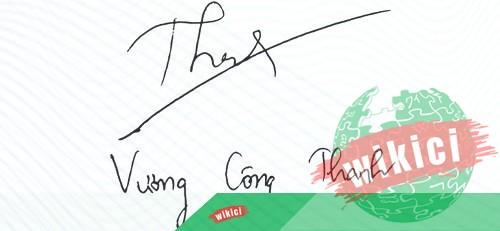 Chữ ký tên Thanh – Những mẫu chữ ký tên Thanh đẹp nhất-1