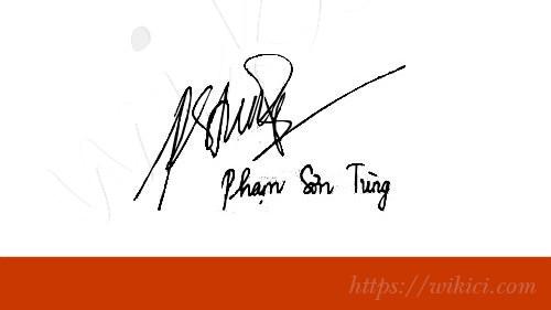 Chữ ký tên Tùng – Những mẫu chữ ký tên Tùng đẹp nhất-2
