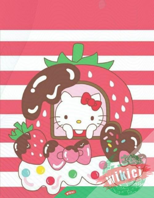 Hình nền Hello Kitty, ảnh Hello Kitty đẹp dễ thương-11