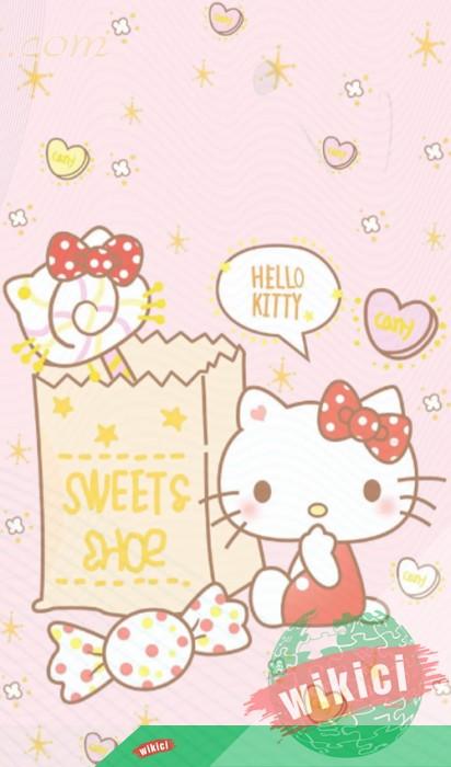 Hình nền Hello Kitty, ảnh Hello Kitty đẹp dễ thương-5
