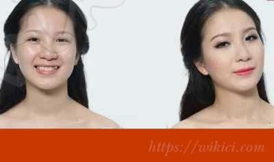 Hướng dẫn cách trang điểm cho cô dâu mặt dài-1