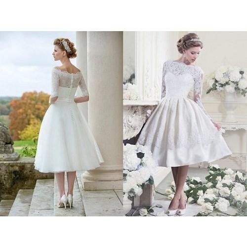 Kinh nghiệm chọn váy cưới ngắn cho cô dâu-1
