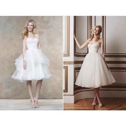 Kinh nghiệm chọn váy cưới ngắn cho cô dâu-10