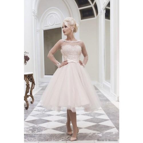 Kinh nghiệm chọn váy cưới ngắn cho cô dâu-2