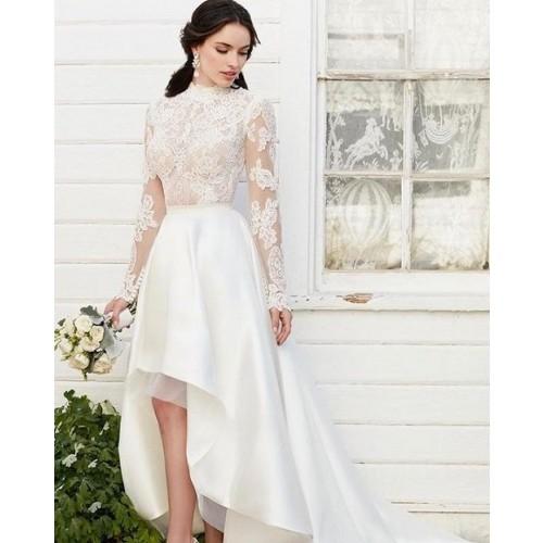 Kinh nghiệm chọn váy cưới ngắn cho cô dâu-3