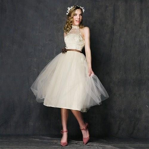Kinh nghiệm chọn váy cưới ngắn cho cô dâu-5