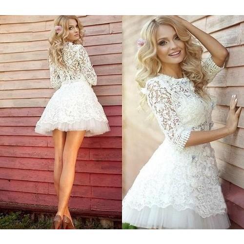 Kinh nghiệm chọn váy cưới ngắn cho cô dâu-6