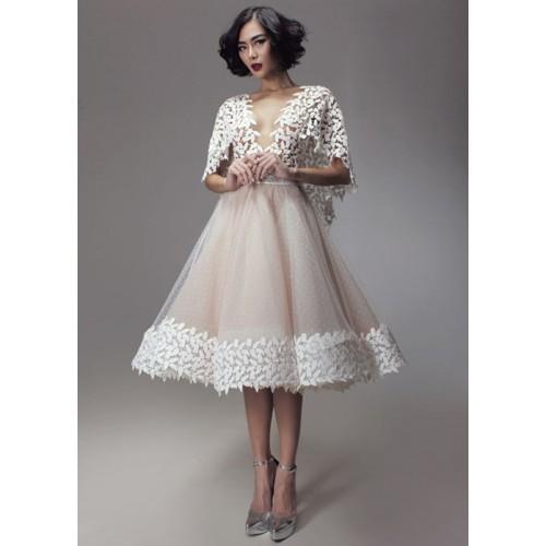 Kinh nghiệm chọn váy cưới ngắn cho cô dâu-8