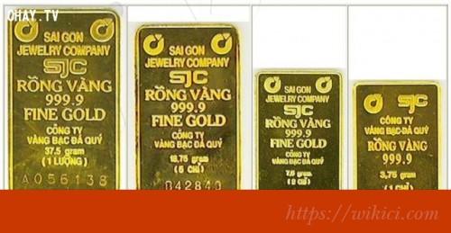 Kinh tế: 1 cây vàng (lượng vàng) nặng bao nhiêu kg?-1