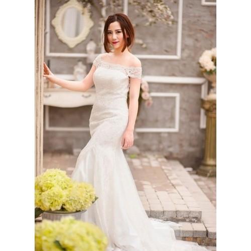 Mẹo chọn váy cưới cho cô dâu dáng mập thêm xinh-1