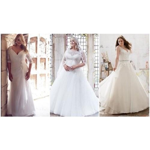 Mẹo chọn váy cưới cho cô dâu dáng mập thêm xinh-2