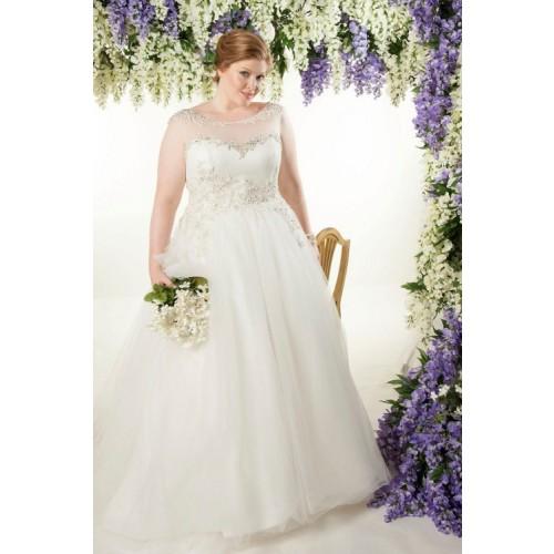 Mẹo chọn váy cưới cho cô dâu dáng mập thêm xinh-3