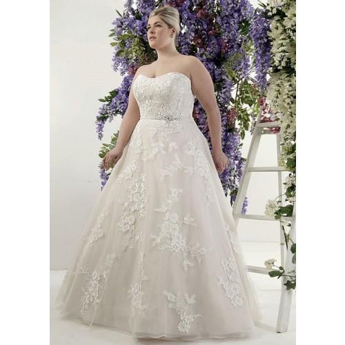 Mẹo chọn váy cưới cho cô dâu dáng mập thêm xinh-4