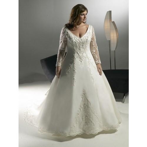 Mẹo chọn váy cưới cho cô dâu dáng mập thêm xinh-6