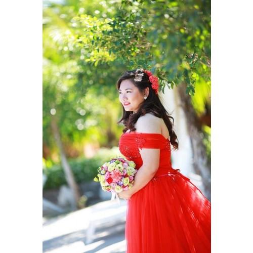 Mẹo chọn váy cưới cho cô dâu dáng mập thêm xinh-7
