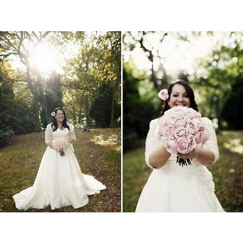 Mẹo chọn váy cưới cho cô dâu dáng mập thêm xinh-8