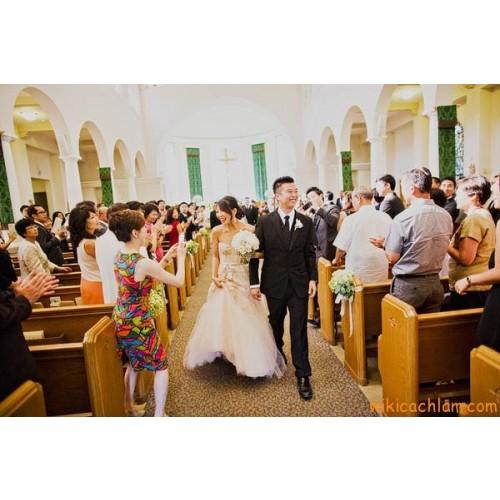 Nghi thức cưới trong nhà thờ ở Việt Nam-1