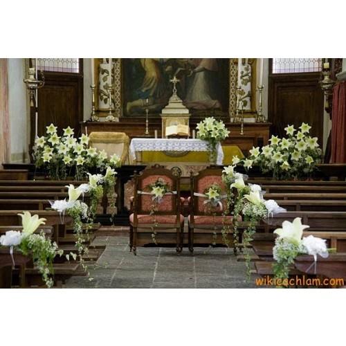 Nghi thức cưới trong nhà thờ ở Việt Nam-3
