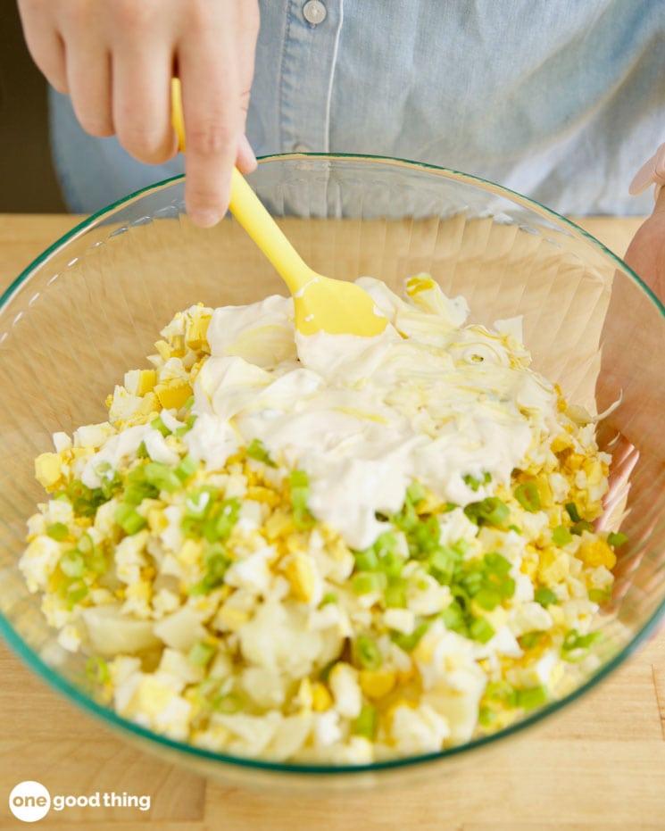 Xà lách khoai tây