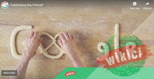 Pretzel là gì? Biểu tượng Google tôn vinh ngày 21-09-1