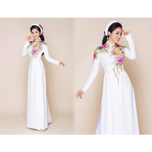 Tư vấn cách chọn áo dài cho cô dâu mũm mĩm-1