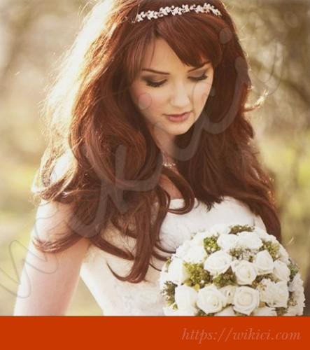 Tư vấn chọn kiểu tóc cho cô dâu mặt vuông-2