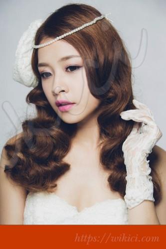 Tư vấn chọn kiểu tóc cho cô dâu mặt vuông-3