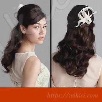 Tư vấn chọn kiểu tóc cho cô dâu mặt vuông-6