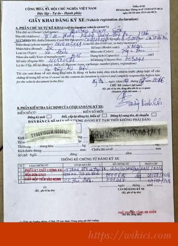 Tổng hợp các thủ tục đăng ký xe máy, xe ô tô xe tải xe khách mới.-4