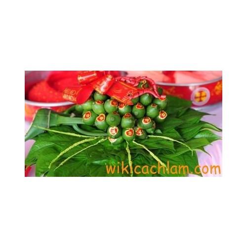 Ý nghĩa mâm quả ngày cưới theo phong tục Việt-2