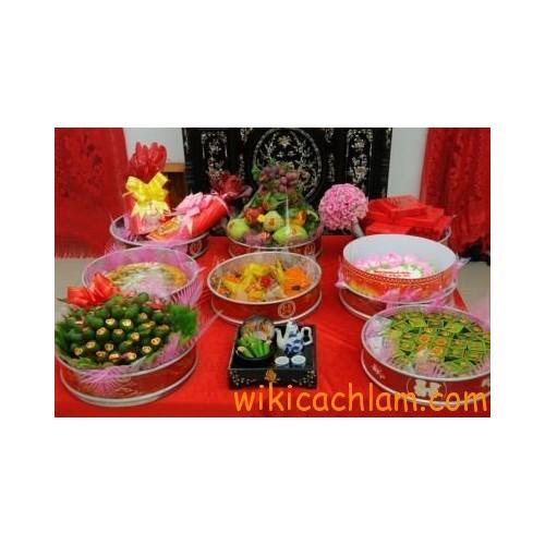 Ý nghĩa mâm quả ngày cưới theo phong tục Việt-6